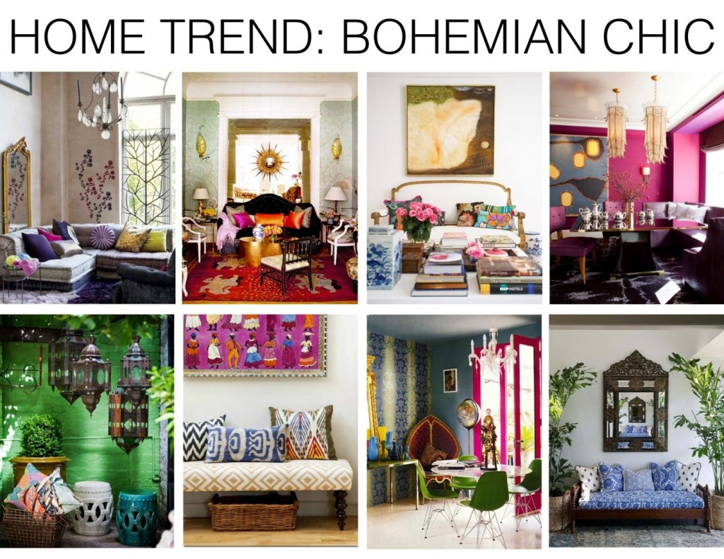 Decor în stil boho chic